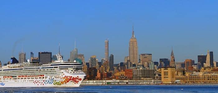 Vervoer tussen Manhattan en cruisehavens van New York