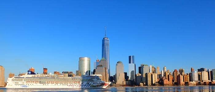 Vervoer tussen vliegvelden en cruisehavens in New York