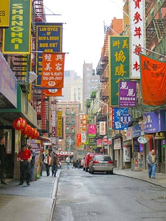 Chinatown in NYC