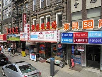 Chinatown in New York - Winkels