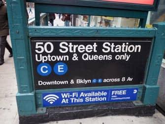 Ingang metro stations New York