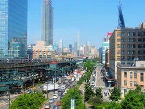 Long Island City in New York