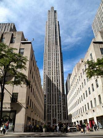 Midtown Manhattan in New York - Rockefeller Center