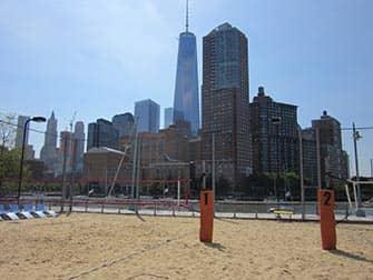 TriBeCa in New York - Pier 25 Beach Volley