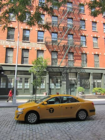 TriBeCa in New York - Taxi