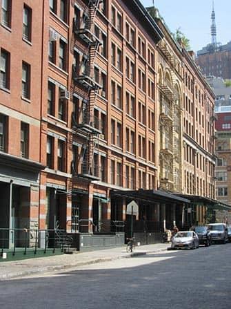 TriBeCa in New York - gebouwen