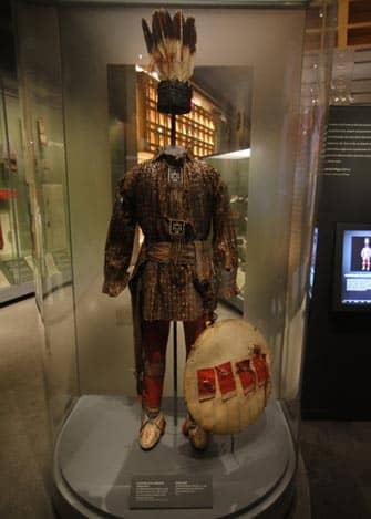 Apsaalooke in het museum of American Indian in New York