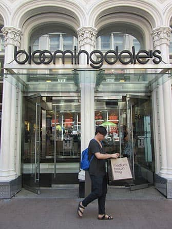 Bloomingdale's in NYC - Brown Bag