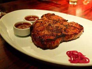 Steak eten in New York