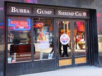 Themarestaurants in New York - Bubba Gump