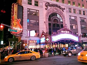 Themarestaurants in New York - Hard Rock Cafe