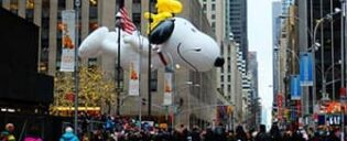 Macys Thanksgiving Parade in New York