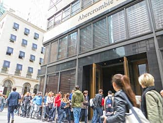 Abercrombie and Fitch in New York City