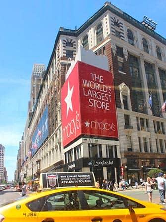 Macy's in NYC