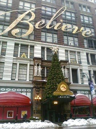 Macy's in New York - Kerstboom