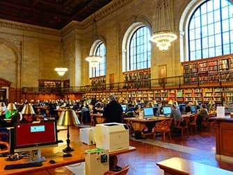 Public Library New York - Interieur