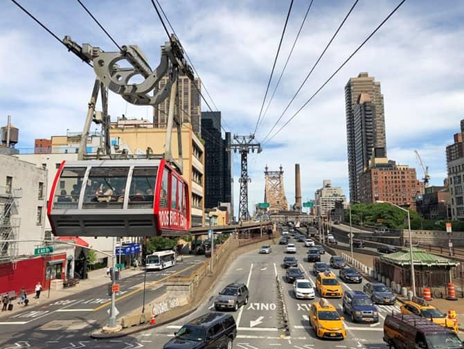 Roosevelt Island Tram - Cable Car