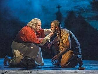 De muscial Les Miserables op Broadway