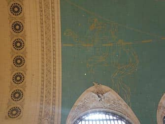 Grand Central Terminal New York - Astronomisch Plafond