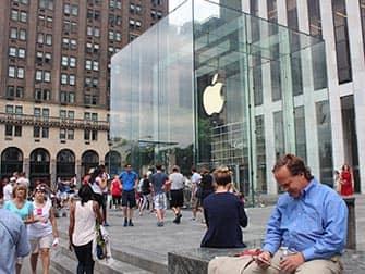 Apple Store op Fifth Avenue in NYC