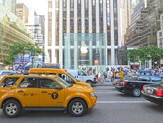 Apple Store op Fifth Avenue in New York