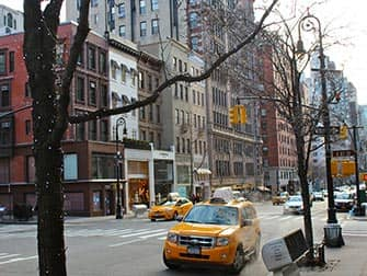Upper East Side in New York - Madison Ave