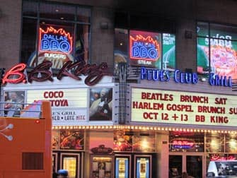 Jazz in New York - BB King Blues Club
