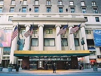 Pennsylvania Hotel in New York - Buitenkant