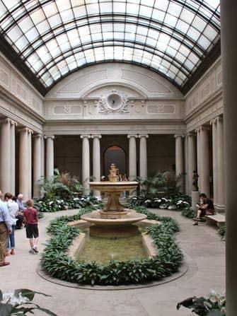 Binnenplaats Frick Museum New York