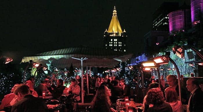 Rooftop Bar in New York