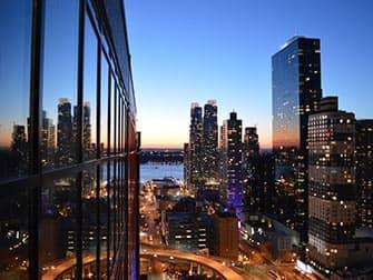 Skyroom in New York - Uitzicht