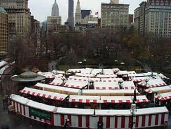 Markten in New York - Kerstmarkt Union Square