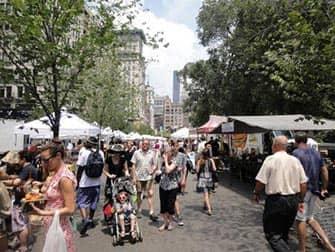 Markten in New York - Union Square Market