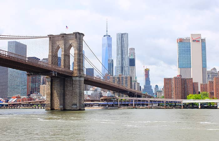 Circle Line Best of NYC Cruise - Brooklyn Bridge en One World Trade Center