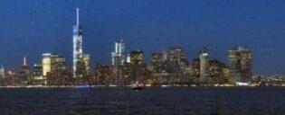 Circle Line: Harbor Lights Cruise - Vrijheidsbeeld bij zonsondergang