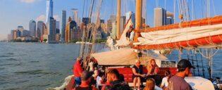 Zeilboottocht in New York