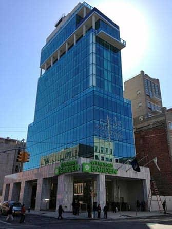 Wyndham Hotel in NYC - Gebouw