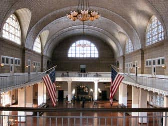 Ellis Island gebouw New York