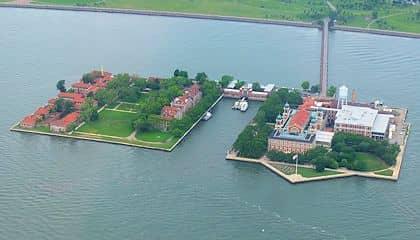 Het Vrijheidsbeeld en Ellis Island Tour - Ellis Island