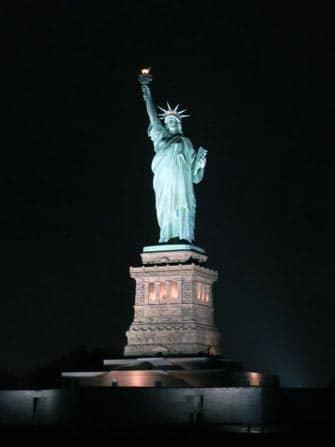 Langs het Statue of Liberty met een boottour