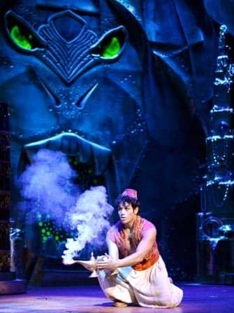 Aladdin de musical in New York City