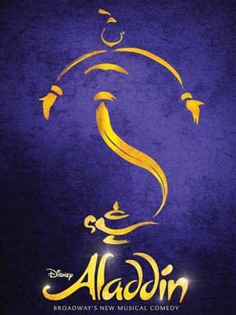 Aladdin op Broadway in New York City