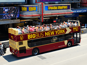 Big Bus in New York - De Bus