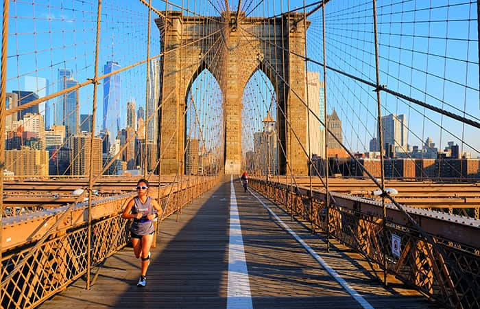 Brooklyn Bridge - Hardlopen