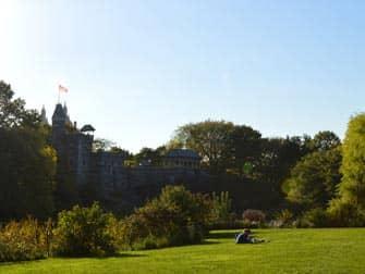Central Park - Belvedere Castle Zomer