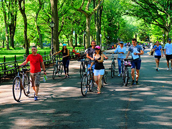 Central Park - Fietsen