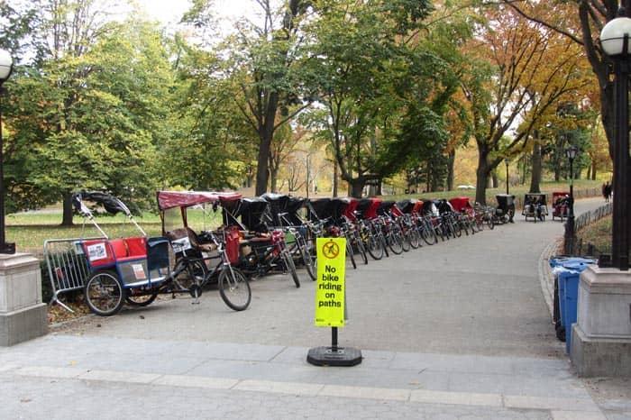Central Park - Pedicab