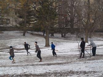 Central Park - Plezier in de Sneeuw