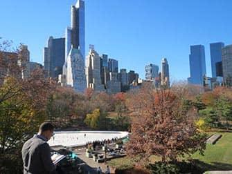 Central Park - Schaatsen