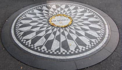 Central Park - Strawberry Fields